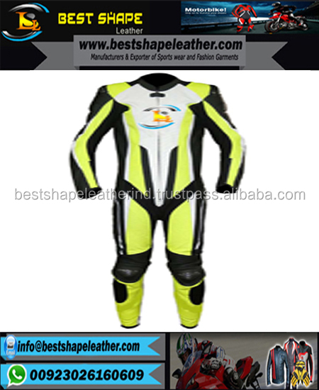 Suzuki motorbike leather racing 1 piece suit, motorcycle leather racing suit