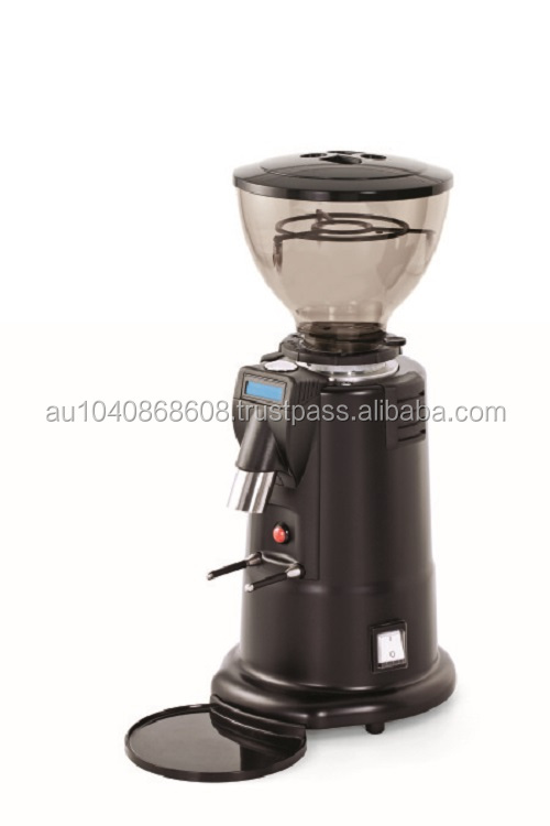 MACAP M4 Digital Grind On Demand Black Coffee Grinder