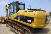 excellent quality USA made used cat 320D excavator in shanghai