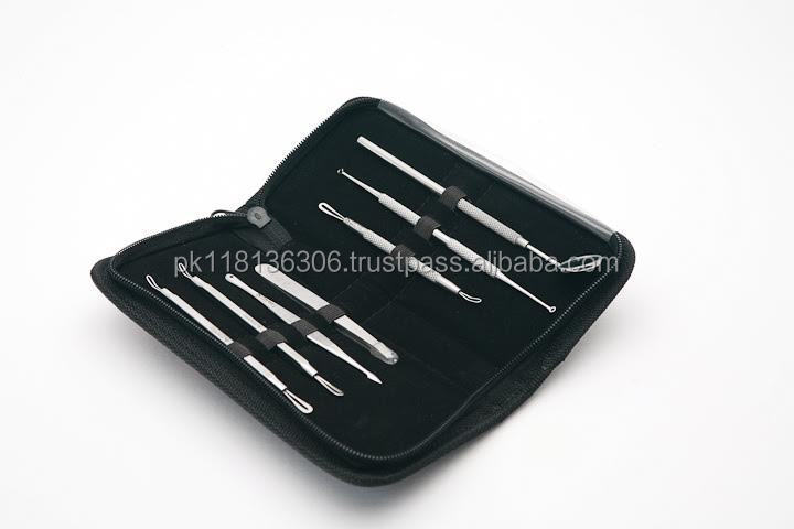Blackhead & Blemish Remover Kit/ Acne Treatment Professional Surgical Extractor Instrument For Pimples/ Blackheads & Face