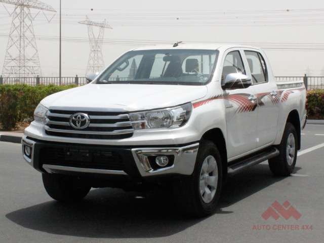 2016 TOYOTA HILUX 4X4 2.4L DIESEL AUTOMATIC GLX +SR5 PACKAGE - EXPORT READY