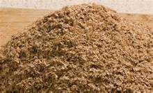 Wheat bran for animal feed