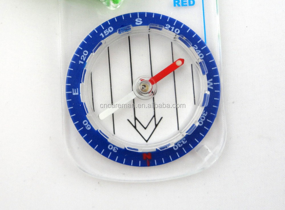 Acrylic Baseplate Orienteering/Race/Field Thumb Map Scale Compass OEM Orders Accepted