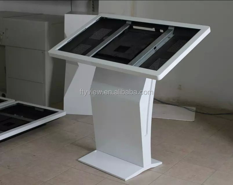 self-service shopping mall advertising all in one pc touch screen kiosk