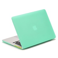 Wholesale Sand Series Matte Plastic Case for Macbook Pro 13.3 with Retina Display - Cyan