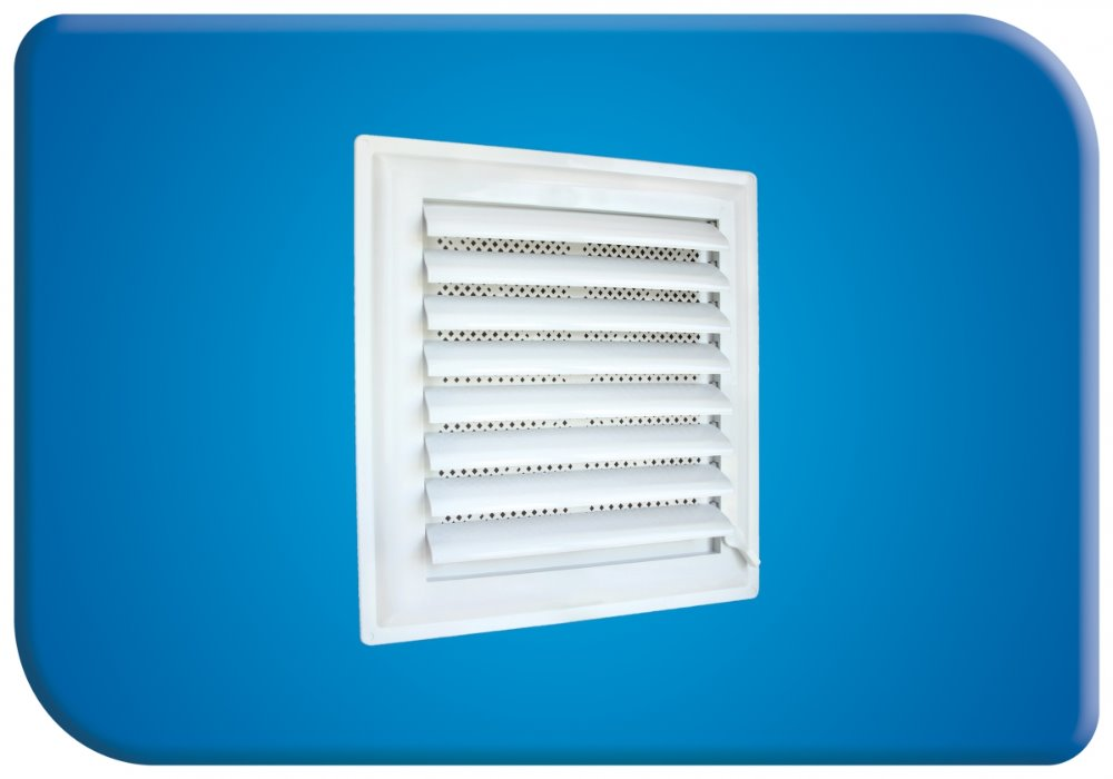 55 x 64 cm Interior Decorative Air Vent Grille Self Adhesive - Adjustable Open Close System