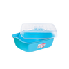 Malaysia Plastic Food Warmer Packaging Container Box with Lid Supplier E-393