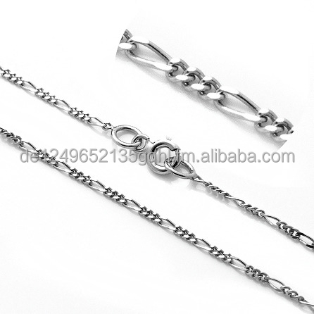 Figaro chains Brand new 925 sterling silver 16 18 20 22 24 26 28 30 inch - 1.50 mm necklaces