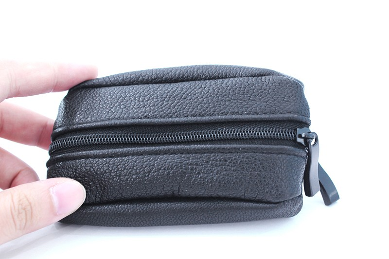 Coin Bag Double Zipper Closure with Key Ring Since 1997