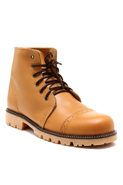 Laborc Coopers Brown Tan Boots Shoes