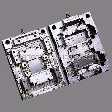 HASCO Standard Plastic Injection Molding, Can be Hot Runner Mold or Cold Runner Mold