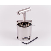 Stainless Steel Ball Flask and Crusher