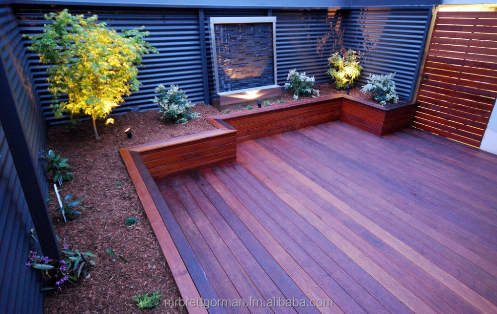 Merbau Solid Wood Decking Eco Friendly Sustainable Timber