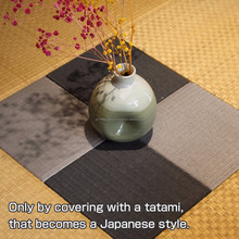Customizable Tatami straw mat flooring for home interior decoration