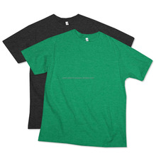 Mens Basic Printed Green Short Sleeve Tshirt