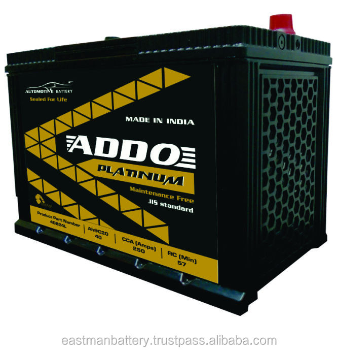 DIN Maintenance Free Car Battery