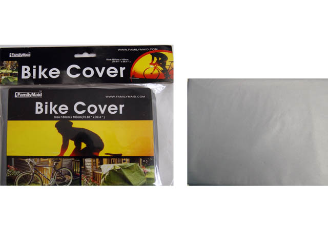 "BIKE COVER 72*42"" HC 9*8.8 GREY CLR, #19187A"