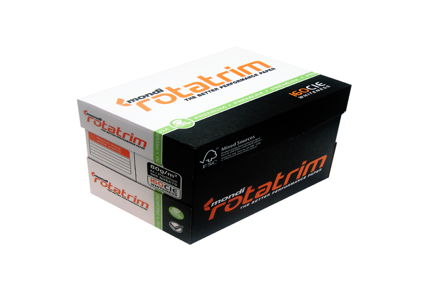 Mondi Rotatrim A4 Copy Paper 80gsm/75gsm/70gsm For Sale