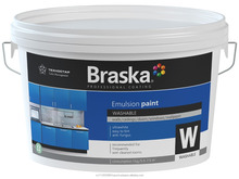 Washable interior acrylic bio emulsion paint