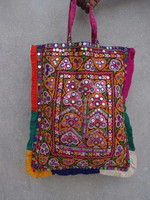Indian Vintage kutch Embroidered Blouse-Wholesale Cotton Banjara Style Handbag-Boho Hippie Gypsy Shoulder Bag-Fashion bag