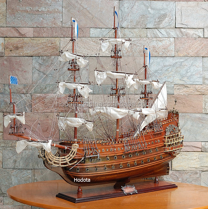 Soleil Royal Wooden Model Ship