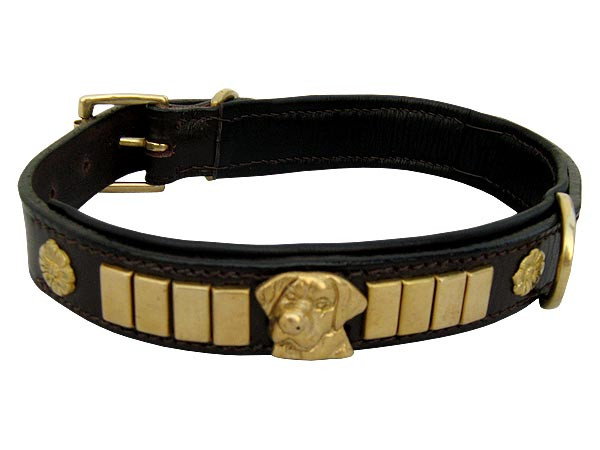 Cotton Rope Leather Dog Collars manufacturer