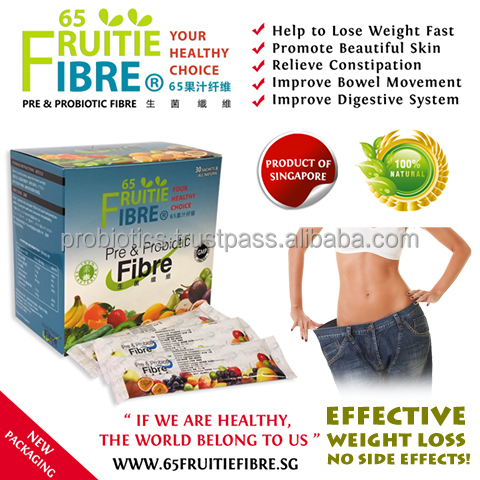 Slim Fast Weight Loss Tablets Alternative - 65FruitieFibre Loss Weight Probiotics - 10 + 1 Box FREE Combo Package - Wholesale