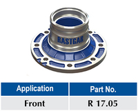 Nissan Wheel Hub (Rastgar No. R 17.05)