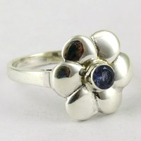 More Store Of Love !! Iolite 925 Sterling Silver Ring, Free Shipping !! Silver Jewelry New Year Silver Jewelry