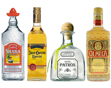 Different sorts of Tequila