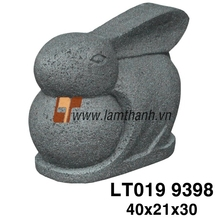 Wholesale Vietnam Lite Stone Ceramic Rabbit Ornaments