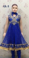 young Girls cheap anarkali suits with stone work