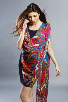 Exporter and Manufacturer of wool square printed shawls