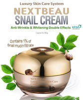 Best Selling Luxury Skincare System Nextbeau Snail Cream 80g , Made in KOREA