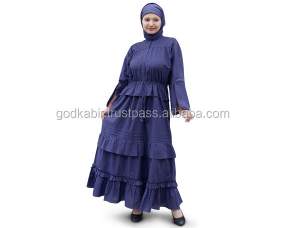 Royal Blue Color /Casual & Evening Party Wear /Muslim Hijba clothing /Islamic Ladies Burqa, Maxi, Jilbab