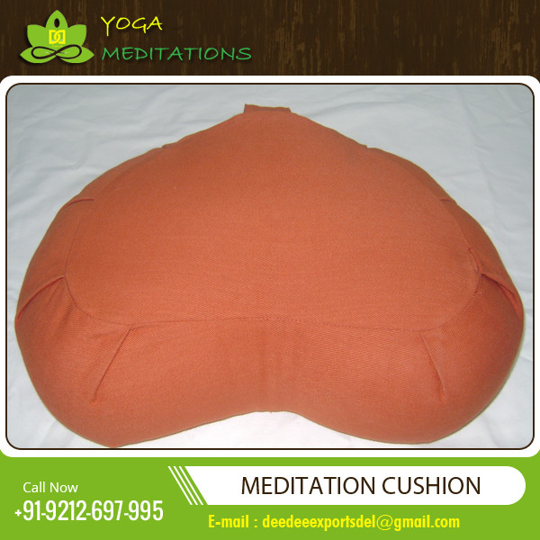 Half moon Yoga Cushion / Comfort Yoga Cushion U Shaped