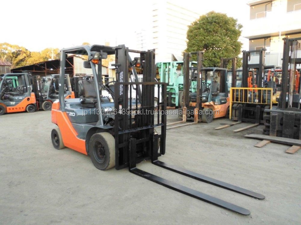 USED FORKLIFT TOYOTA 2ton JAPAN 52-8FD20