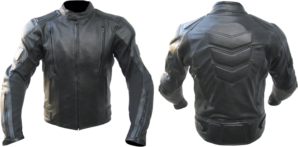 Akira Air Motorcycle Leather Jacket