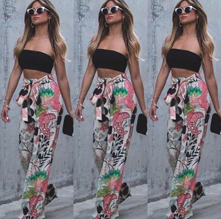 Colorful Women Pant