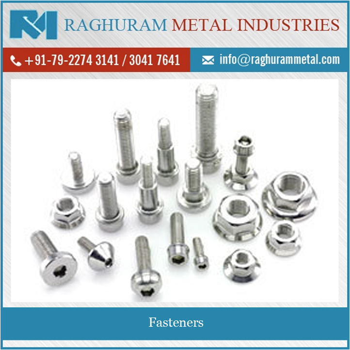Reliable Performance Heat Resistance Fasteners at Reasonable Price