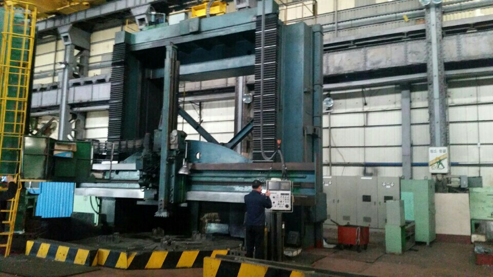 Parallel NC Vertical Lathe (VTL) Turning 4500-5000MM