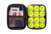 long distance color golf ball and pouch/bag set made in Korea
