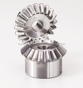 Straight miter gear Module 2.5 Ratio 1 Stainless steel Made in Japan KG STOCK GEARS