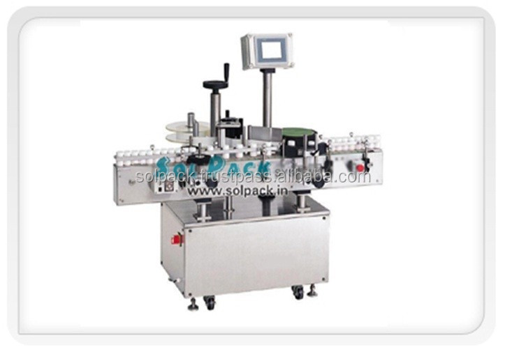 Round Bottle Label Sticking Machine