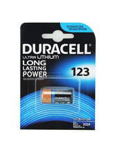 Duracell Lithium DL123A Battery - Pack of 1