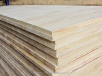 Rubber wood finger joint board size 1220*2440mm or as requested used for construction and furniture