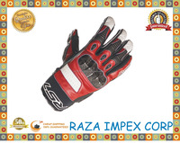 Pakistan wholesale custom High Quality Leather Motorcycle Gloves Leather Motorbike Gloves