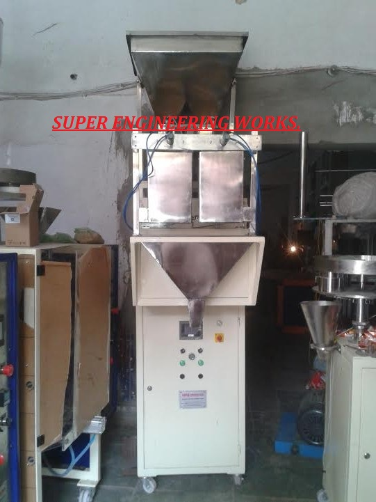 Multi Head Weigher Automatic Form Fill Seal Machine