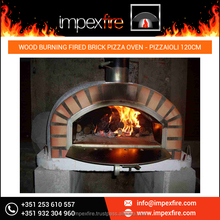 Home Indoor Use Wood Burning Fired Brick Pizza Oven
