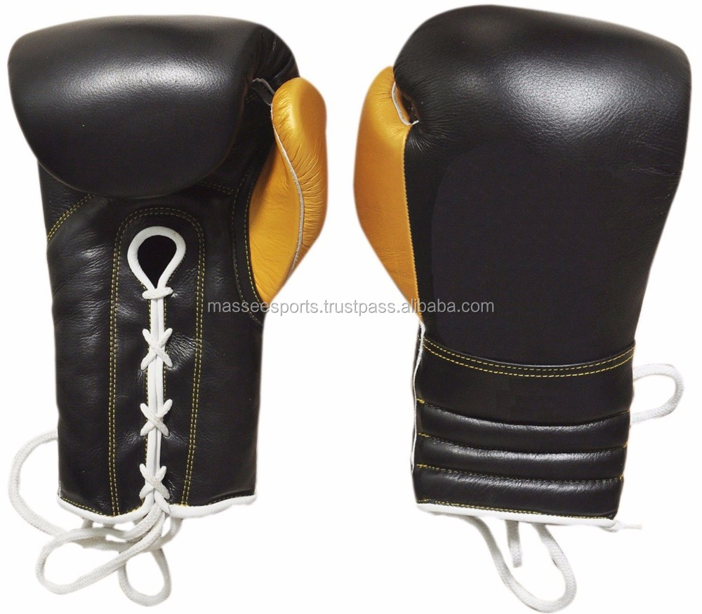 Training MMA Winning Boxing 14oz lace-up gloves
